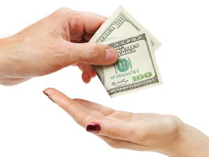 payday loans - giving cash
