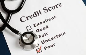 Poor credit score. No issue
